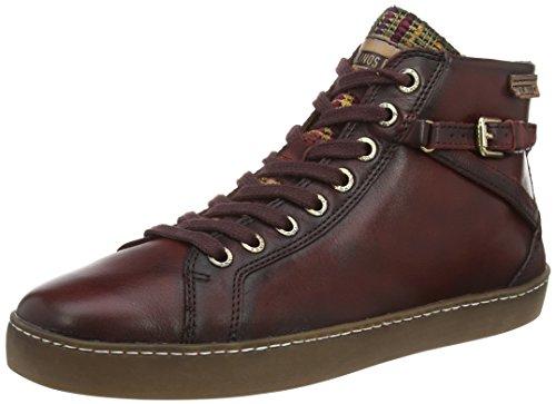 Pikolinos YORKVILLE W0D_I15, Sneaker alta donna, Rosso (Rot (Arcilla)), 41