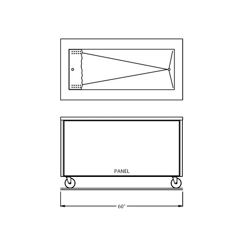 Counter Depth Refrigerator Dimensions front-260416