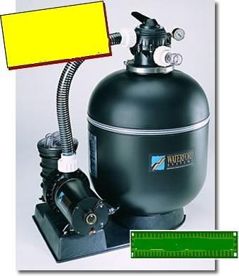 """Sta-rite - Sta-Rite Premium 1HP Pump & 18"""" Sand Filter System"""
