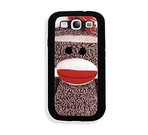 Houseofcases Sock Monkey Samsung Galaxy S3 SIII i9300 Case Fits - Samsung Galaxy S3 SIII i9300 at 'Sock Monkeys'