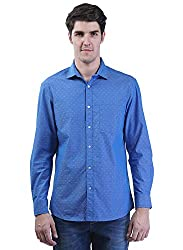 Seaboard Full Sleeves Cotton Casual Shirt For Men