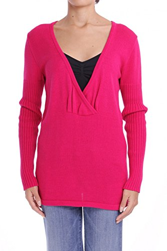ANTA Q'ULQI - Pullover a maglia in Cotone Pima FLORAL - rosso, M