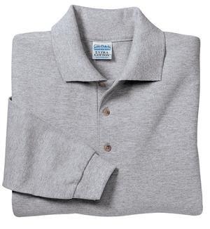 Gildan Ultra Cotton - Long Sleeve Pique Knit Sport Shirt Sport Grey-XL - Buy Gildan Ultra Cotton - Long Sleeve Pique Knit Sport Shirt Sport Grey-XL - Purchase Gildan Ultra Cotton - Long Sleeve Pique Knit Sport Shirt Sport Grey-XL (Gildan, Gildan Mens Shirts, Apparel, Departments, Men, Shirts, Mens Shirts, Casual, Casual Shirts, Mens Casual Shirts)