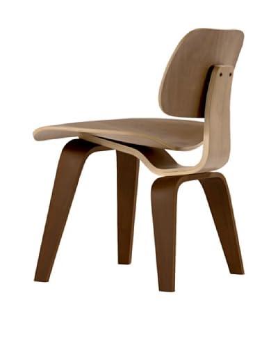 Euro Home Collection Richmond Chair, Walnut