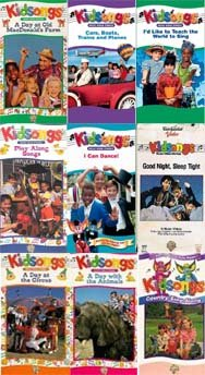 .com: kidsongs set 9 vhs: Kidsongs A Day with the Animals, Kidsongs