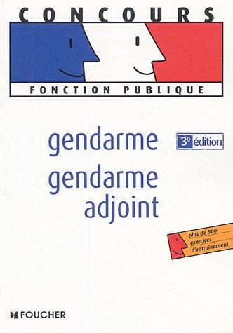 GENDARME - GENDARME ADJOINT (Ancienne  PDF