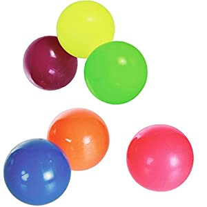 Una bola de luz que rebota - Color aleatorio - Juguete de los niños con luz intermitente - Pelota saltarina con luz