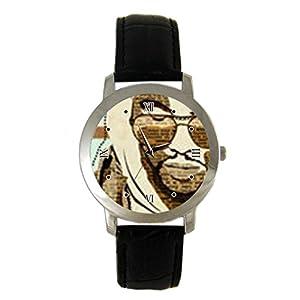 XO The Weeknd OVOXO Drake Rap Custom leather Band Fashion Adult Wrist Watch - Holiday tone