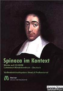 Baruch de Spinoza im Kontext. CD-ROM für Windows 95/98/ME/2000/NT4.0