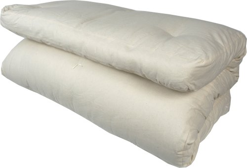 twin size mattress. J-Life Japanese Traditional Shiki Futon - TWIN SIZE (shikibuton) Twin Size Mattress