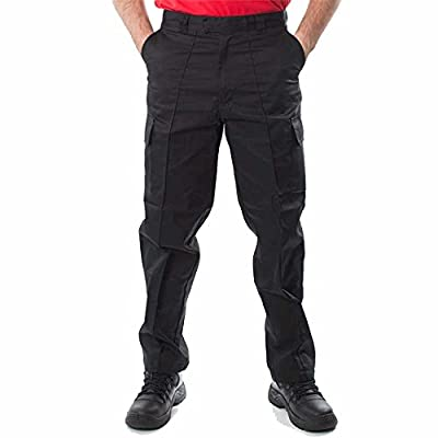 "Mens Cargo Combat Work Trousers Sizes 28""- 52"" Workwear Pants"