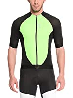 Santini Maillot Ciclismo Fs Zimp2 (Verde / Negro)