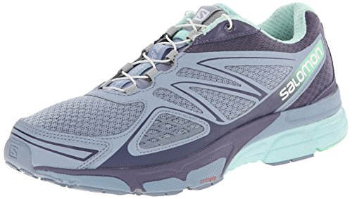 Salomon - X-Scream 3D, Sneakers da donna, Gris (stone blue/artist grey-x/lucite gre), 38