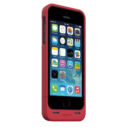 日本正規代理店品mophie juice pack helium for iPhone 5s/5 (PRODUCT) RED プロダクトレッド MOP-PH-000029
