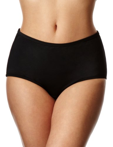 Marie Meili Curves Black Swimwear Hipster