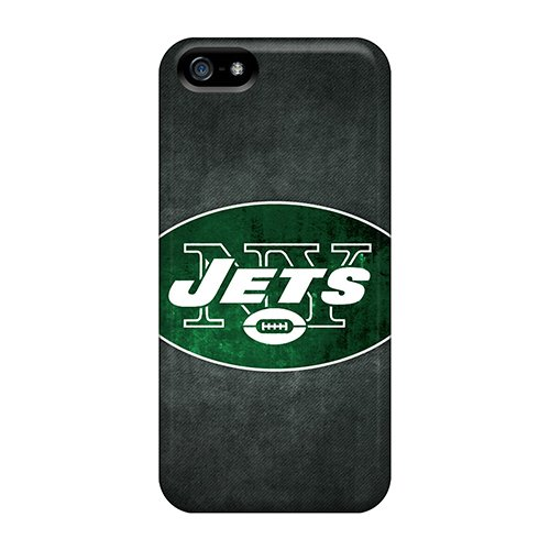 Waterdrop Snap-On New York Jets 4 Case For Iphone 5/5S