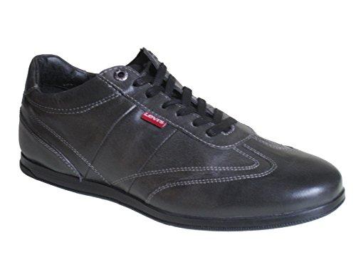 Levi's - Sneaker Uomo , (Nero/Grigio), 44
