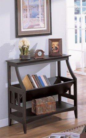 Cheap Black Entry Console Sofa Table with Magazine Book Rack Shelf (VF_AZ00-11688×19670)
