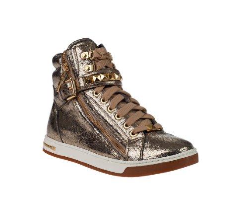 MICHAEL Michael KorsMICHAEL MICHAEL KORS Women's Glam Studded High Top (Gunmetal Metallic) Size 5M