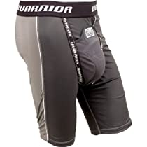 Warrior Youth Nutt Hutt 2 Compression Shorts with Cup (Large, Gray)