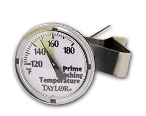 Taylor Classic Cappuccino Frothing Dial Thermometer
