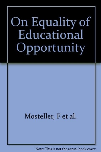 On equality of educational opportunity