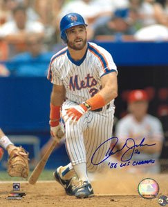 Howard Johnson Signed New York Mets 8x10 Photo at Amazon.com