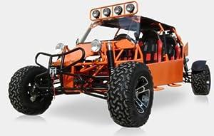 BMS Sand Sniper 1000 ORANGE Gas 4 Cylinder 4 Seat Dune Buggy Go Kart