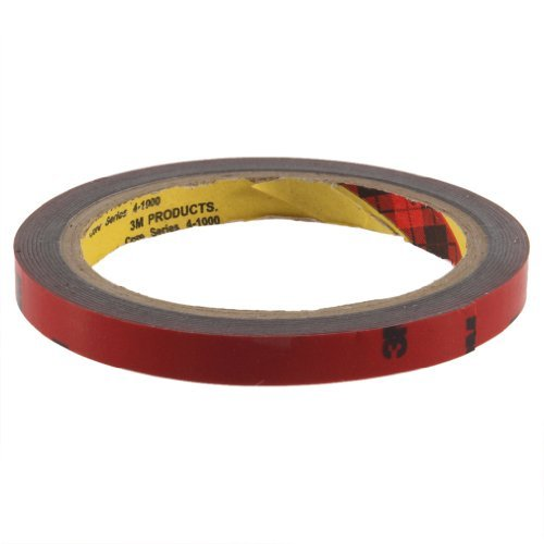 Yks 3M 10Mm Car Auto Truck Acrylic Foam Double Sided Attachment Adhesive Tape