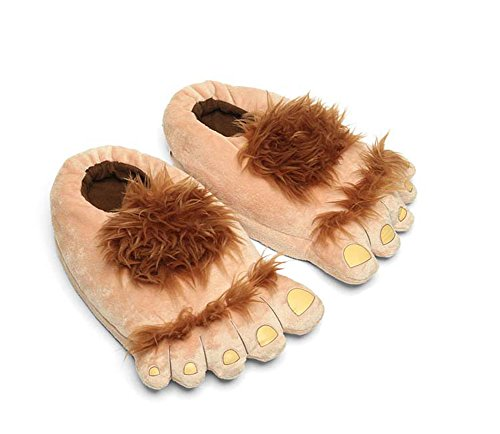 Tusong Furry Monster Adventure Slipper Shoes Indoor Home