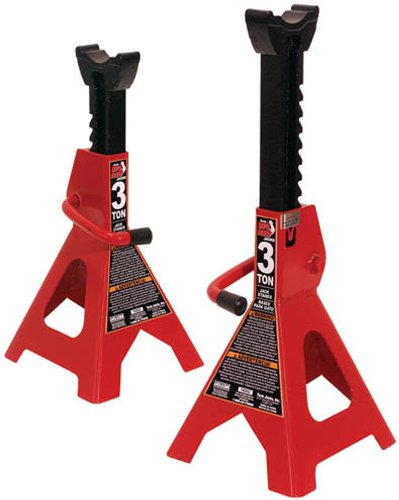 Read About Torin T43006 3 Ton SUV Jack Stands (Sold in Pairs)