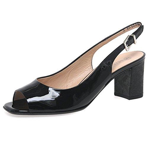 Peter Kaiser Aprire Kasey Womens Scarpe Décolleté 4.5 UK/ 37.5 EU Black Patent/Londra