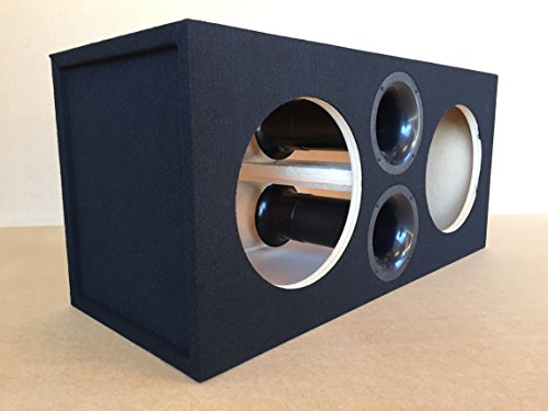 Custom Ported / Vented Sub Box Subwoofer Enclosure for 2 12