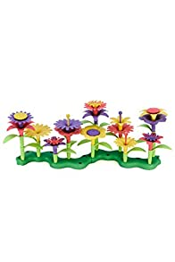Green Toys Recycled USA made Build-a-Bouquet Kit (Multi)