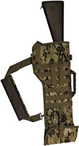 Ultimate Arms Gear Tactical Marpat Woodland Digital Camo Camouflage Ambidextrous Molle Rifle Shotgun Scabbard Soft Protective Case