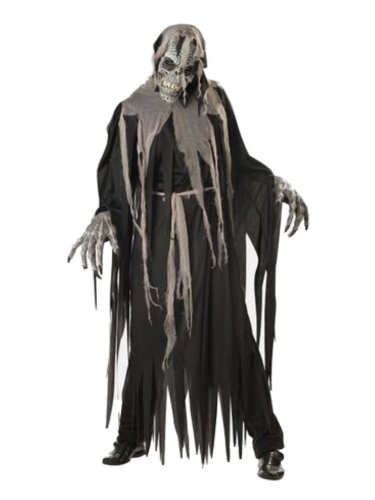 California Costumes Mens Crypt Crawler Costume with Animotion Mask L