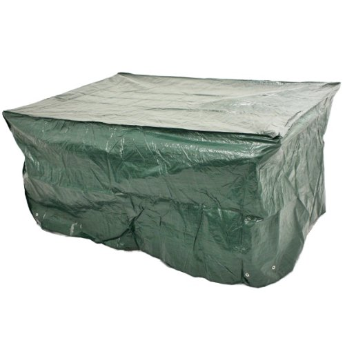 WOODSIDE 6 FT RECTANGLE GARDEN TABLE COVER WATERPROOF FURNITURE