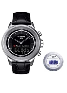 Tissot T0834201605110 T-Touch Classic Special Edition MSG Watch With Black Leather Strap Quartz Movement