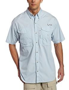 Columbia Bonehead Short Sleeve Shirt, Medium, Mirage
