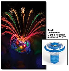 Small Underwater Light Show & Fountain for Swimming Pools