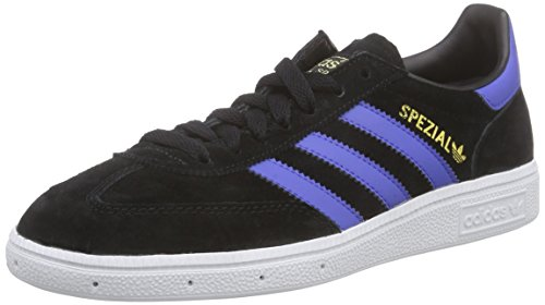 Spezial Herren Sneakers, Schwarz (Cblack/Boblue/Ftwwht), 45 1/3