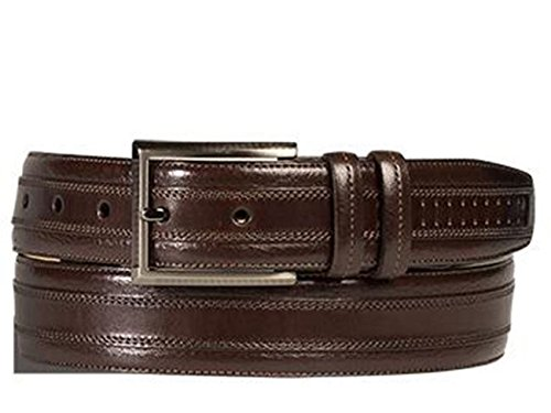 Mezlan Mens Ao10229 Belt , Brown, 38 Medium (AO10229)