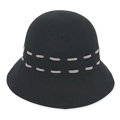 adora-womens-wool-felt-cloche-bucket-winter-hat-with-stitch-accent-a-black