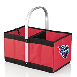NFL Tennessee Titans Urban Market Basket, Red by Picnic Time