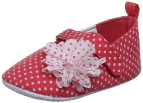 Pumpkin Patch Kids Spotty Flower Mary Janes Baby Shoe