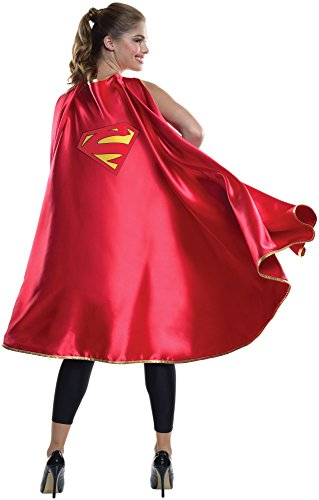 Women's Deluxe Supergirl Cape. Simple but very effective costume