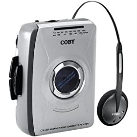 CBYCX49-COBY CX49 PERSONAL AM/FM STEREO CASSETTE PLAYER