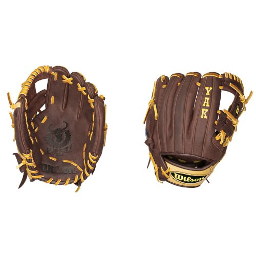 Wilson A1500 1786 YAK Infielder's Throw Baseball Glove (11.5-Inch)