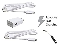Samsung Charger for Galaxy S6/S6 Edge/S5 Note/4/3/S4 Note Edge - Non-Retail Packaging - White