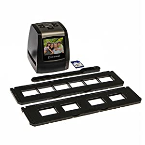 7dayshop Portable High Resolution 35mm Film & Slide Scanner. Colour LCD Screen and 8GB SD Card - Use for your old Kodak, Fuji, Agfa, Konica, Ilford Colour Negative, Black & White and Colour Slide Films!